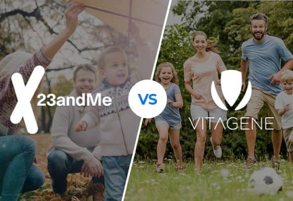 23andMe vs. Vitagene: Which DNA Test Kit is Better?