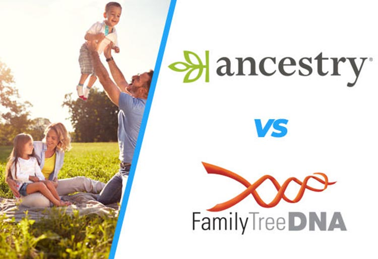 AncestryDNA vs Family Tree DNA