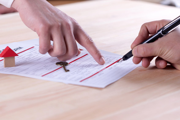 Signing your construction loan