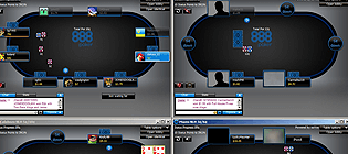 Playing Online Multi-Table Poker Tournaments