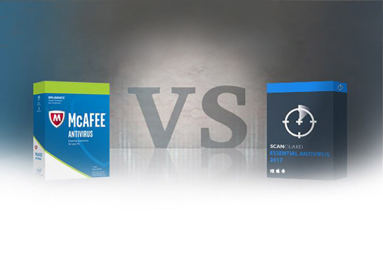 Antivirus Software Battle: Scanguard vs McAfee