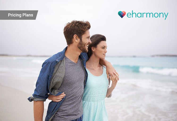 eharmony's pricing plans