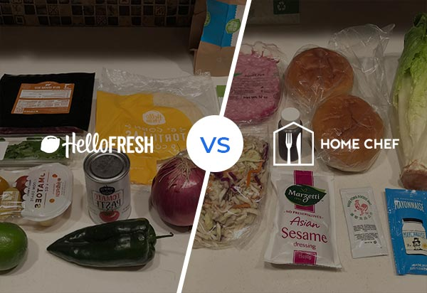 HelloFresh vs Home Chef