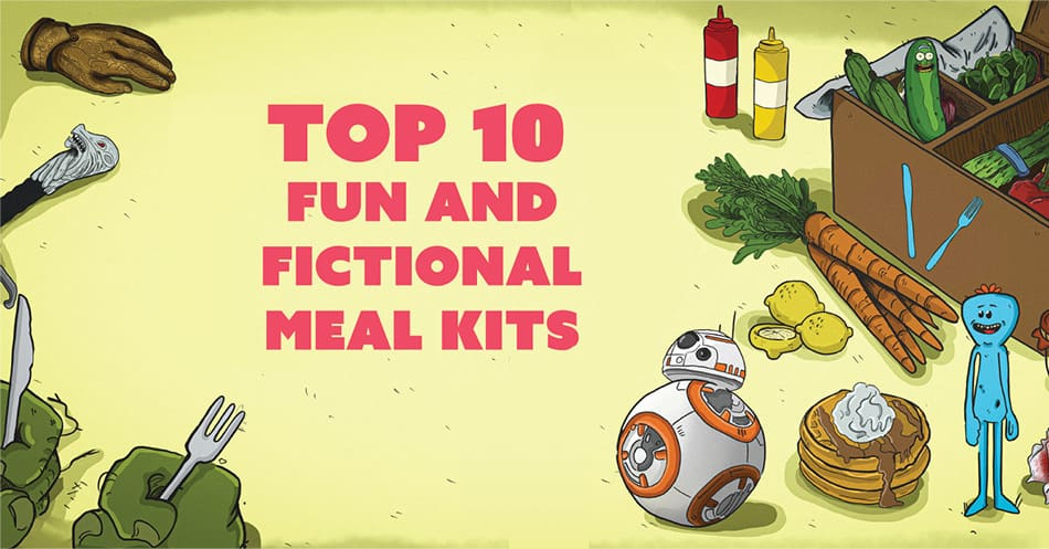 Top 10 Fictional Meal Kits