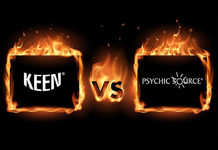 Keen vs Psychic Source - Which Psychic Reading Site is Best?