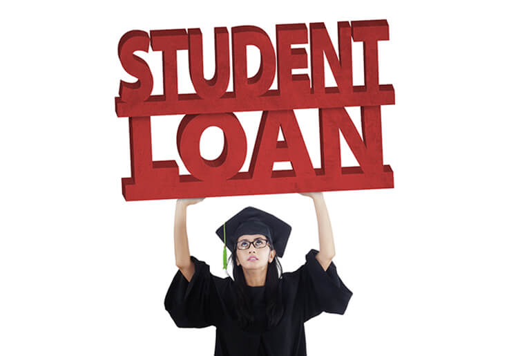 The burden of a student loan