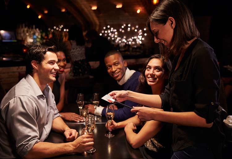 Bars and pubs use POS systems to help offer a better customer experience