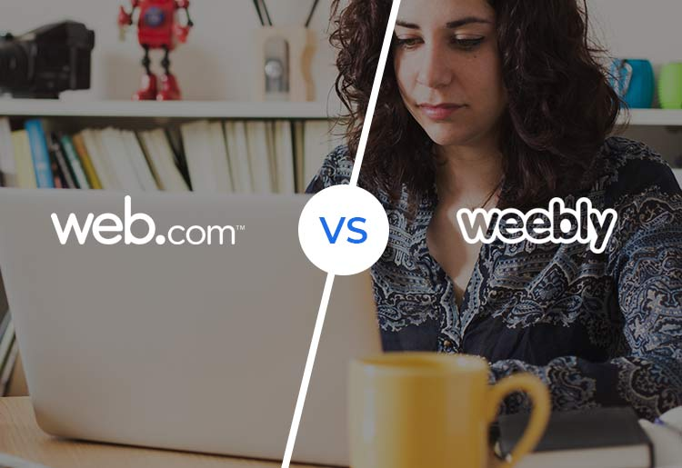 Web.com vs. Weebly: Comparing the Web Builder Giants