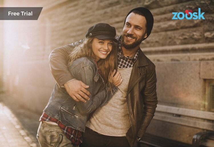 Free trial options to find love with Zoosk