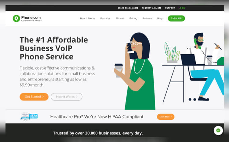 Phone.com Best Residential VoIP Services of 2019