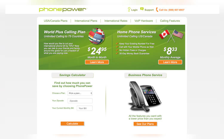 PhonePower Best Residential VoIP Services of 2019