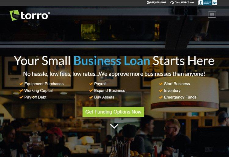 Torro Homepage