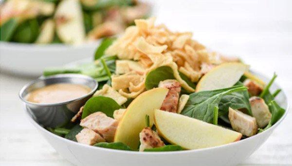 Apple Miso Crunch Salad