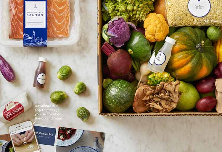 Blue Apron vs HelloFresh - Blue Apron ingredients