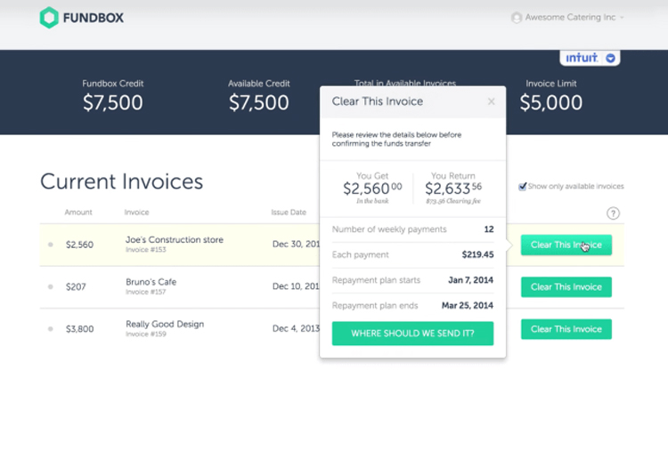 Fundbox Accounting Software