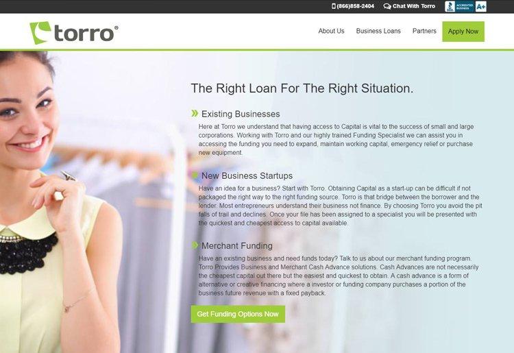 Torro Loan Types