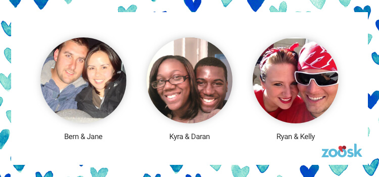 Daran and Kyra met on Zoosk