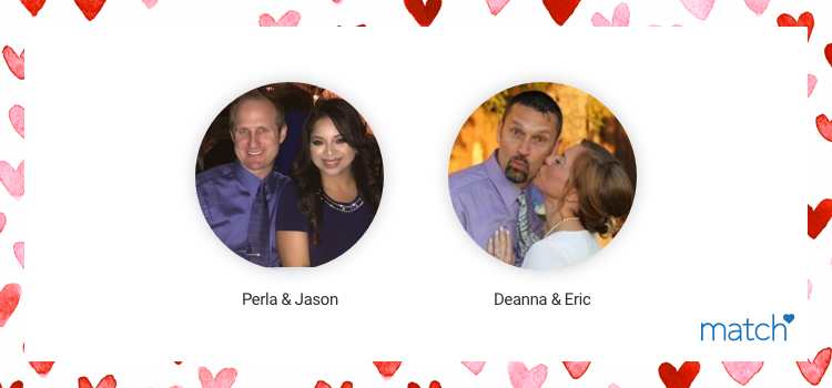 Perla and Jason met on match.com