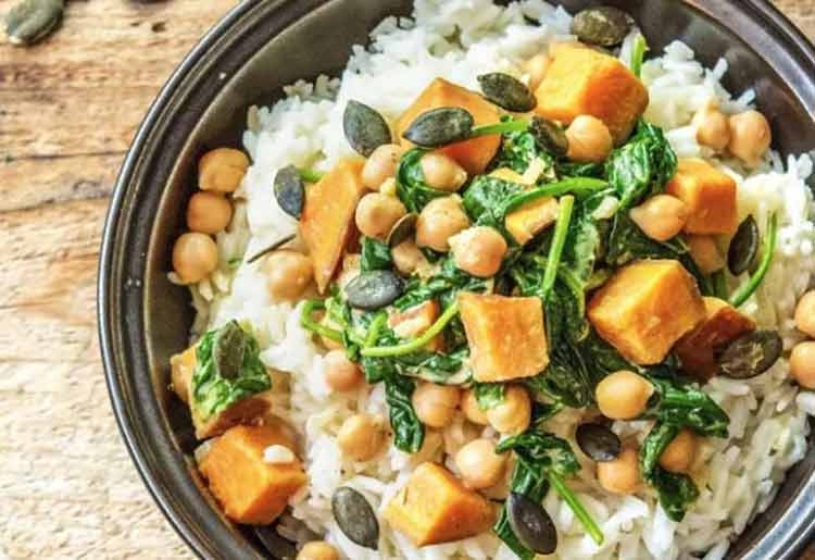 HelloFresh Vegan Meal Kit - Vegan Curry