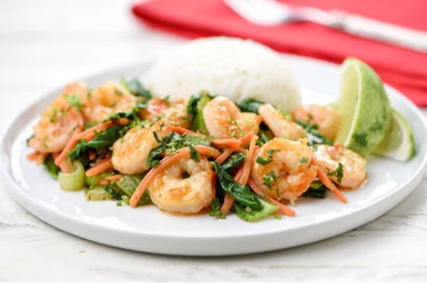Sweet Chili Garlic Shrimp
