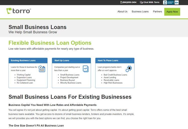 Torro Flexible Loans