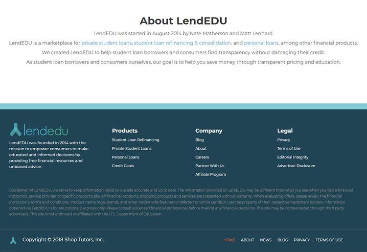 LendEDU Customer Support