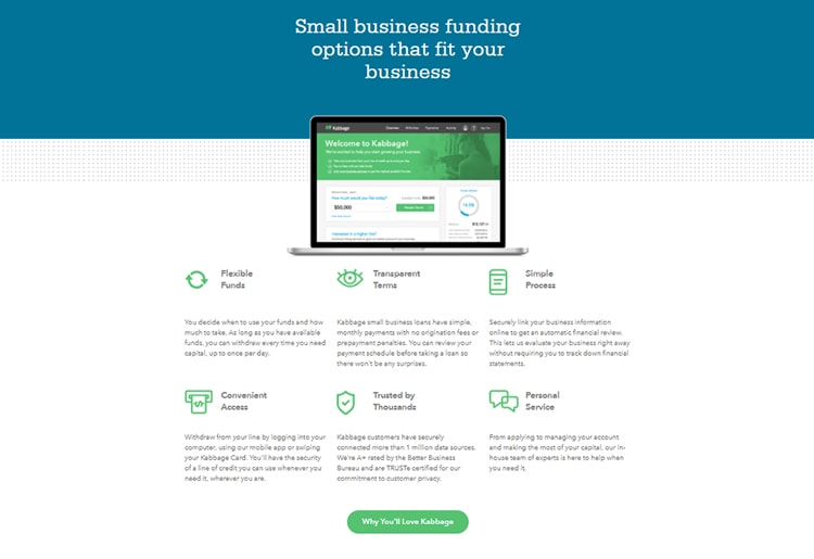 Kabbage Small Business Funding