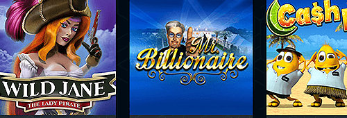 Choose from more than 500 games at Dream Vegas