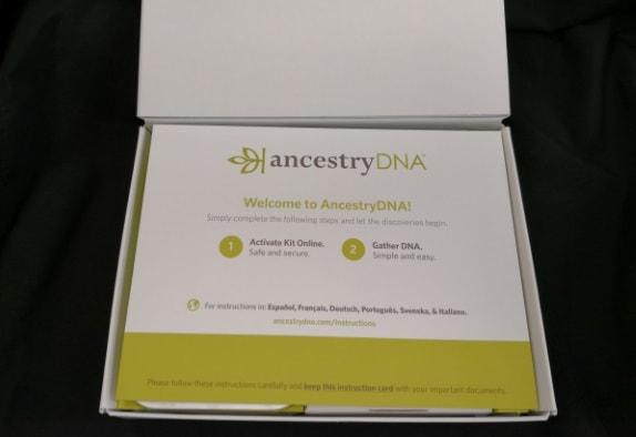 Ancestry activation reminder