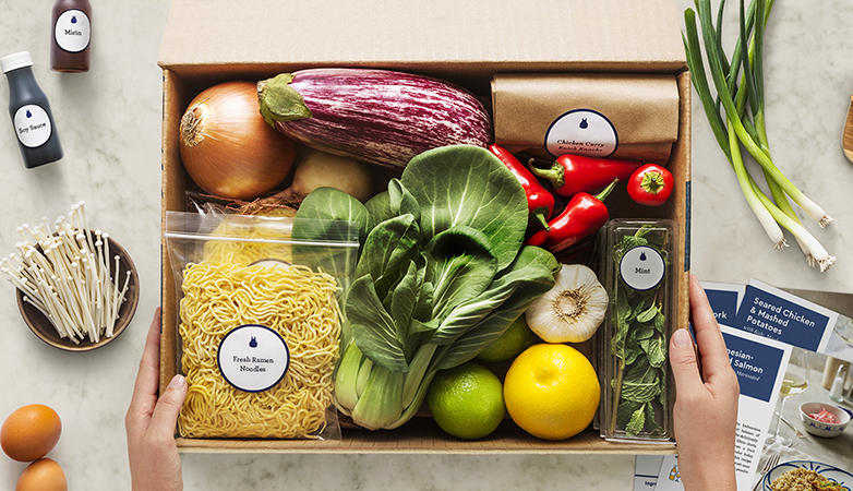 Blue Apron delivers ingredients for a fresh and delicious meal