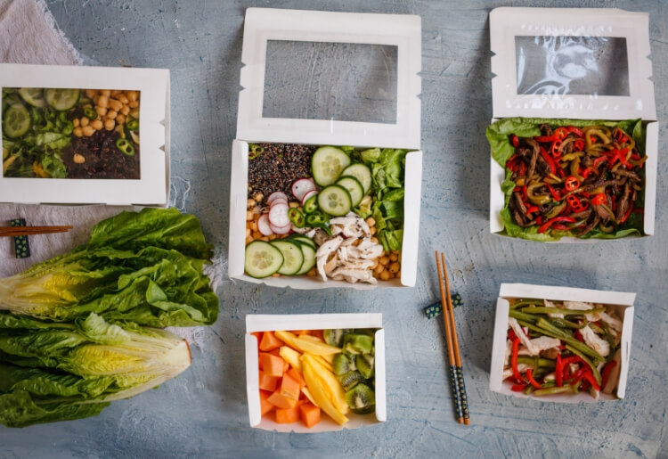 "There is an increasing number of meal delivery services that offer ""clean eating"""