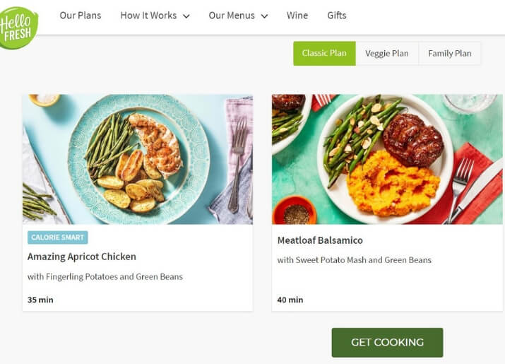 HelloFresh meals suitable if you're lactose intolerant