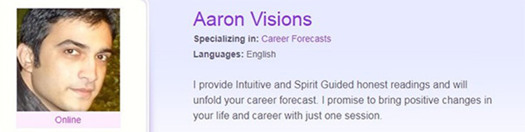 The Most Accurate Career Tarot Readers - Aaron Visions