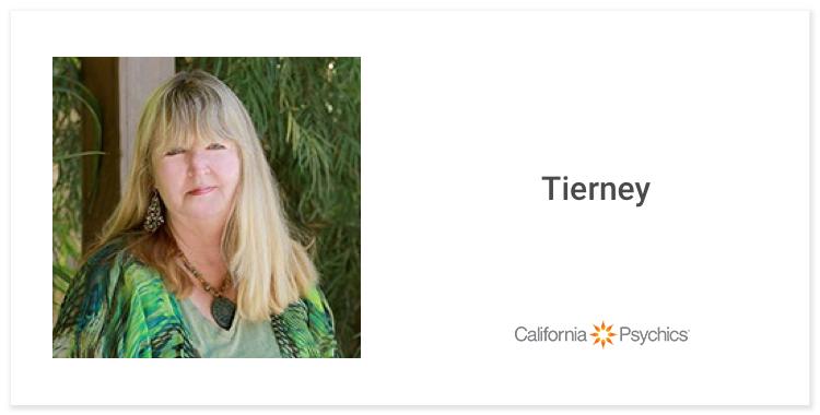 Tierney, pet psychic
