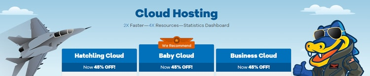 Hostagtor cloud hosting