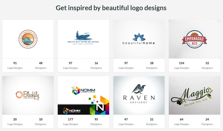 Design Crowd portfolio