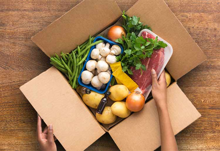 EveryPlate meal kit box