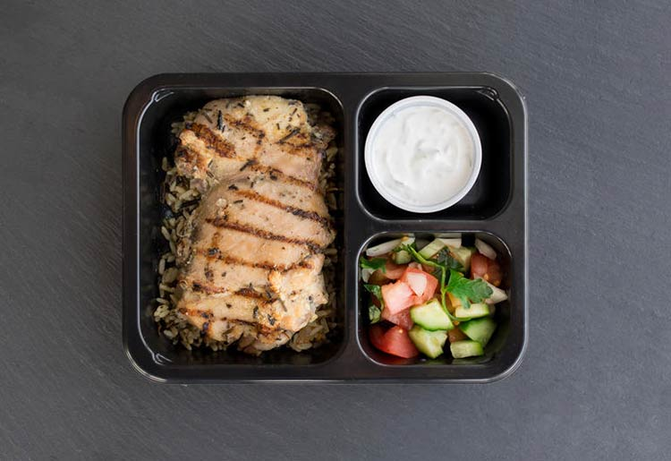 Grilled Chicken Gyro Plate