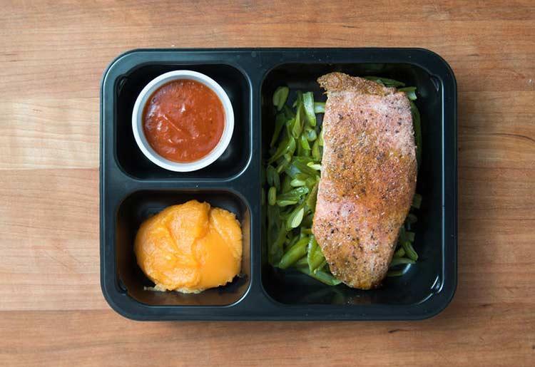 Paleo salmon dish