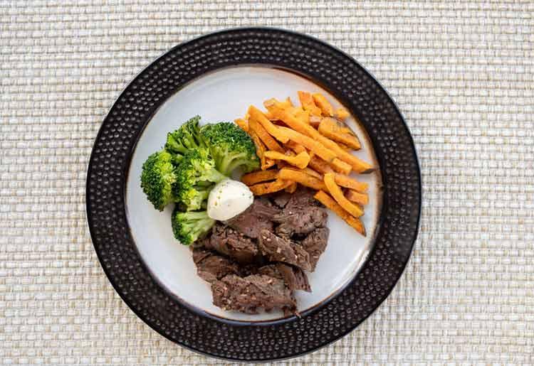Factor 75 steak meal