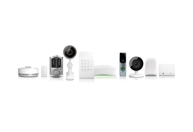 Select from a range of Frontpoint devices