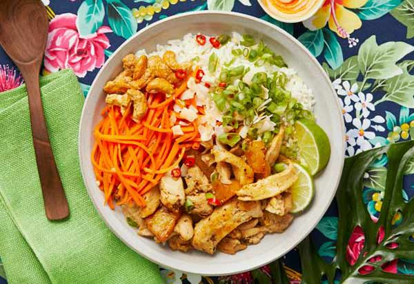 HelloFresh's Hawaiian Chicken Poke Bowl
