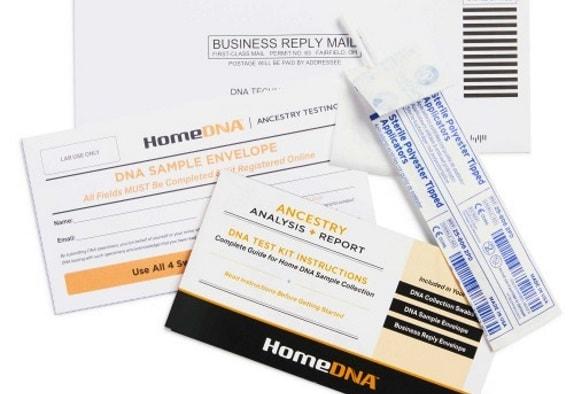 HomeDNA Ancestry kit