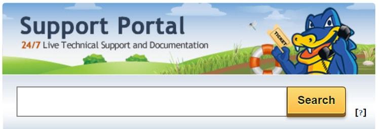 Hostgator customer support portal