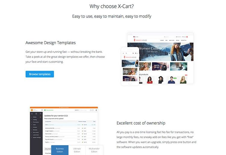 Why choose X-Cart