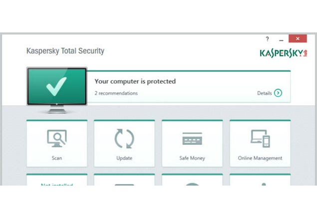 Kaspersky protected