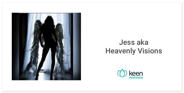 Heavenly Visions, Keen tarot reader
