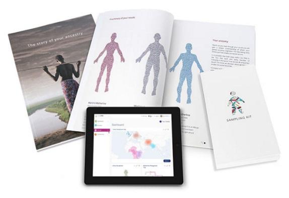 LivingDNA DNA kit