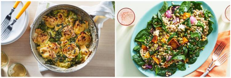 Martha & Marley Spoon vegetarian meals