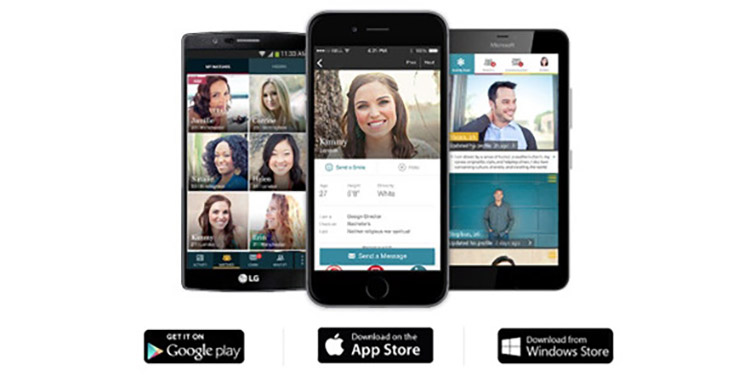 With eharmony's app finding your dream date is made easy